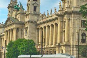 city, Budapest, Tram, Hungary