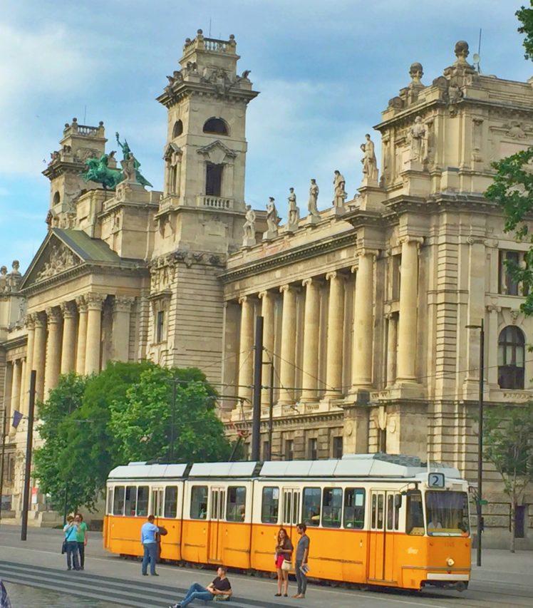 city, Budapest, Tram, Hungary HD Wallpaper Desktop Background