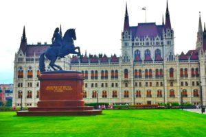 city, Budapest, Hungary, Hungarian Parliament Building