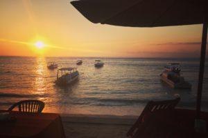 Bali, Sea, Sunset