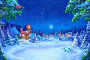 illustration, Snow, Artwork