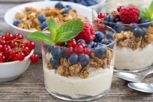 food, Spoon, Berries, Fruit