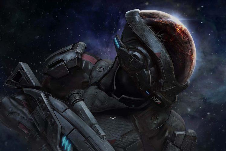 Mass Effect: Andromeda, Mass Effect HD Wallpaper Desktop Background