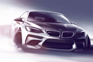 BMW, Concept cars, Car, Drawing
