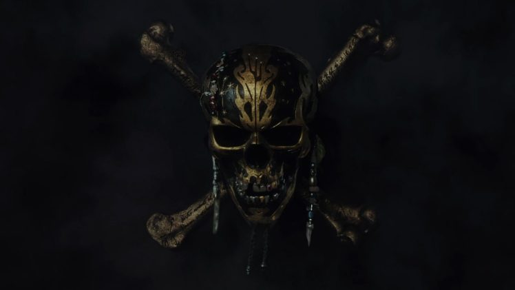 Skull Pirates Of The Caribbean Hd Wallpapers Desktop And