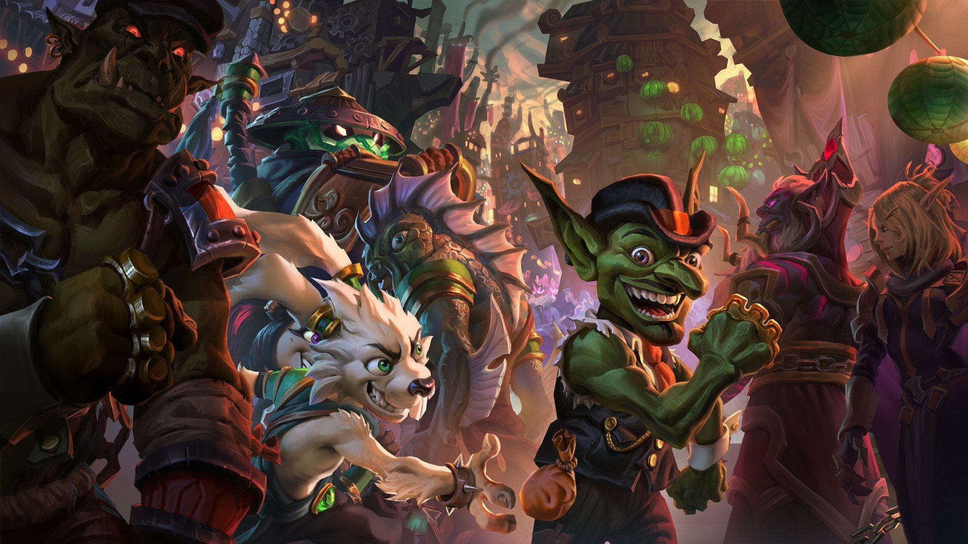 Hearthstone Heroes Of Warcraft Video Games Mean Streets