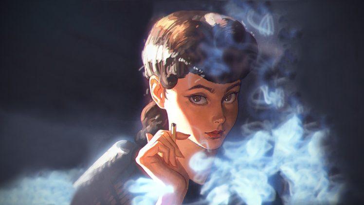 Women Ilya Kuvshinov Blade Runner Fantasy Girl Hd
