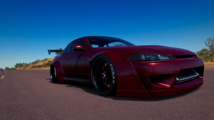forza horizon 3, Nissan Silivia, Rocket Bunny, Car, Video games HD Wallpaper Desktop Background
