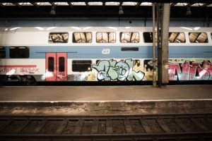 graffiti, Train