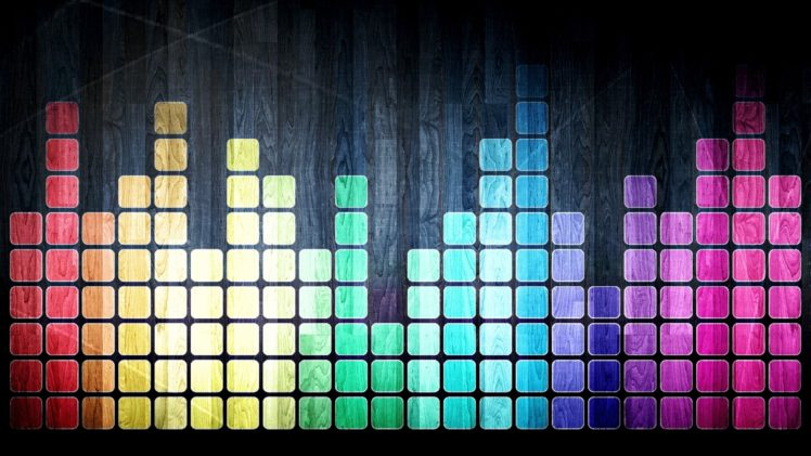 spectrum, Colorful, Digital art, Square HD Wallpaper Desktop Background