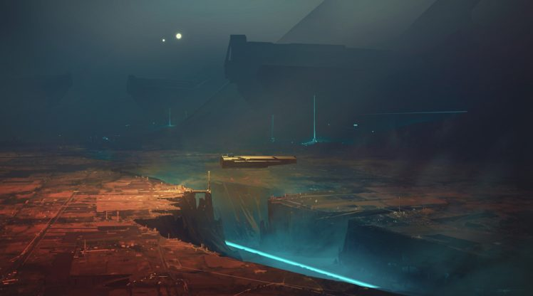 artwork, Fantasy art, Illustration, Futuristic HD Wallpaper Desktop Background