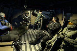 Master Chief, Commander Shepard, Metal Gear Solid, Crysis, Halo 5: Guardians, Overwatch, Soldier  76 (Overwatch), Mass Effect