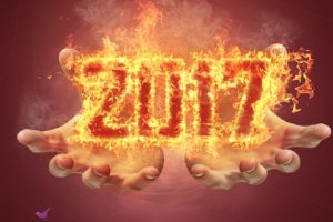 newyear, 2017 (Year), Fire