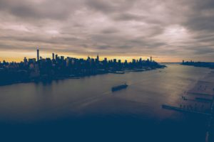 nature, Water, City, Boat, Clouds, Sea, Building, Cityscape, Skyline