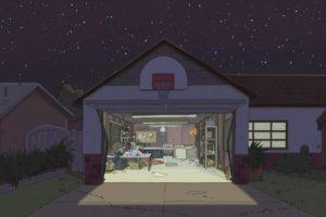 fan art, Landscape, Rick and Morty