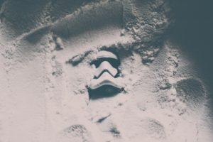 stormtrooper, Trooper, Star Wars, Simple, Minimalism, Helmet, Jedi, Sand