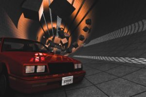 beamng, Car, Tunnel, Red