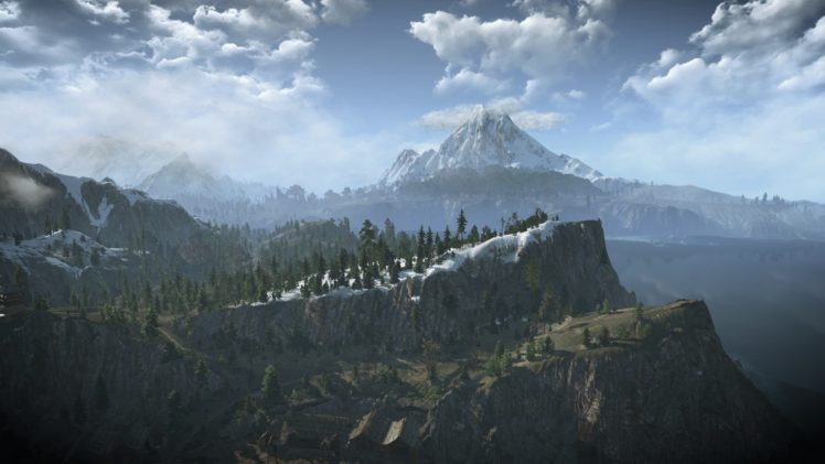 Download The Witcher 3 Background 1920X1080 Wallpapers
