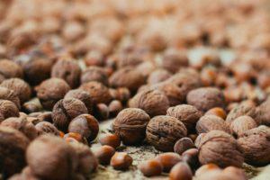 macro, Nature, Nuts, Warm colors, Closeup