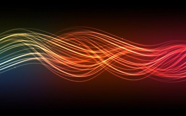 colorful, Light trails HD Wallpaper Desktop Background