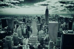cityscape, Monochrome, New York City
