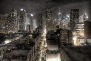 HDR, Cityscape, Night