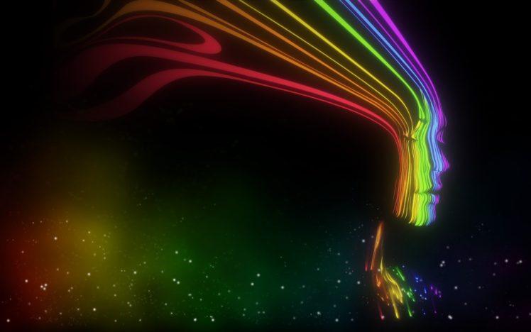 face, Colorful HD Wallpaper Desktop Background