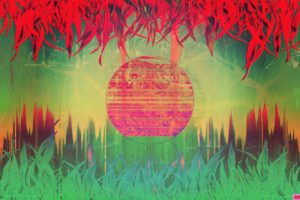 glitch art, Abstract, Vaporwave, LSD