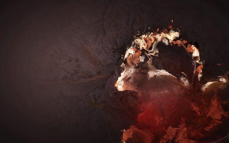 screaming, Digital art HD Wallpaper Desktop Background