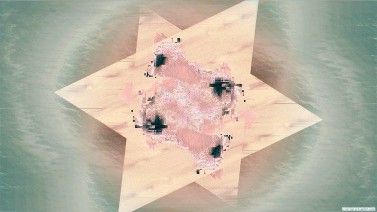glitch art, Abstract, Digital art HD Wallpaper Desktop Background