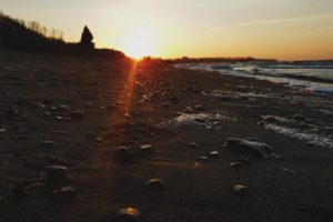 beach, Landscape, Sunrise, Sunset, Sweden, Sea