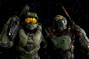 Master Chief, Source Filmmaker, Halo 5: Guardians, Doom 4, Doom (game)