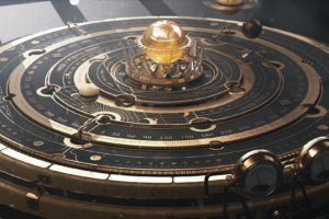 astrolabe, Steampunk, Planet, Astronomy