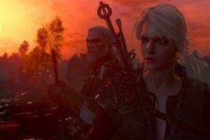 Geralt of Rivia, Cirilla Fiona Elen Riannon, The Witcher 3: Wild Hunt