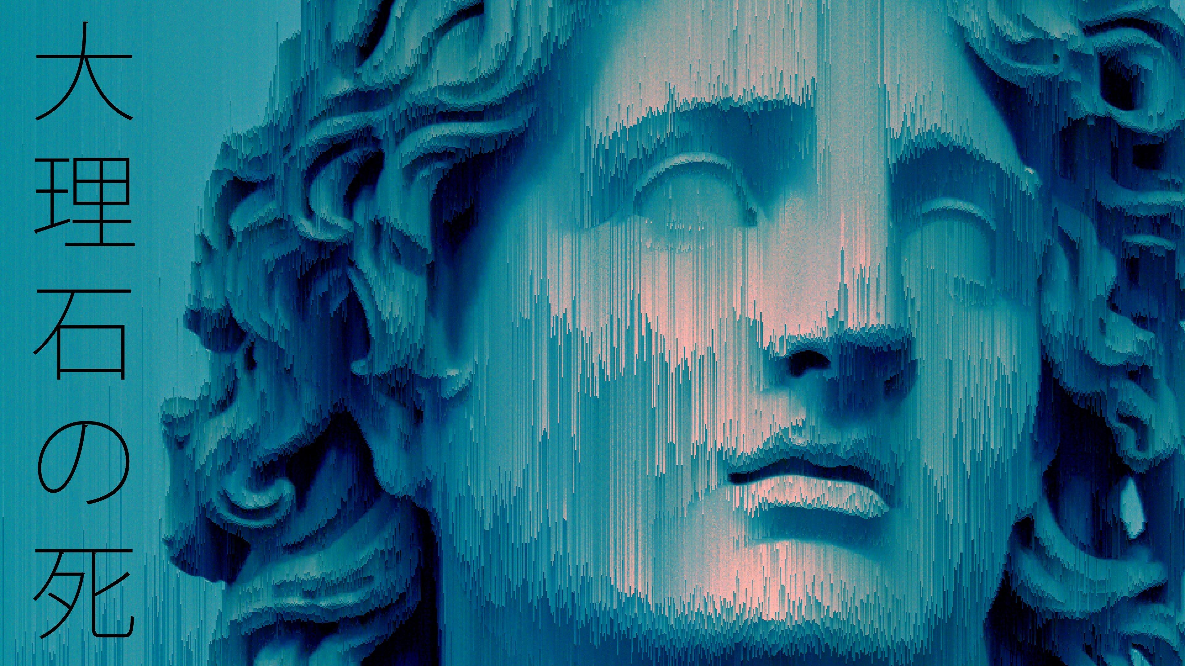 statue, Glitch art, Vaporwave HD Wallpapers / Desktop and ...