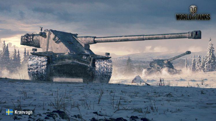 World of Tanks, Kranvagn, Sweden HD Wallpaper Desktop Background