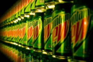 Mountain Dew, Can