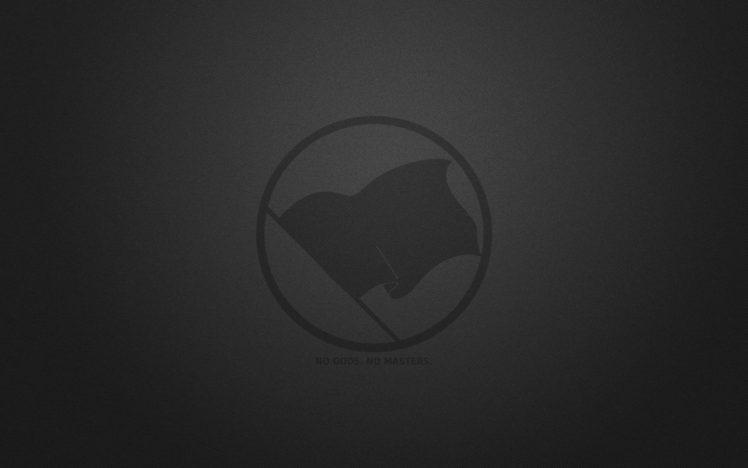 atheism, Monochrome, Flag, Logo HD Wallpaper Desktop Background