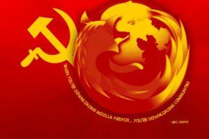 humor, Mozilla Firefox, Communism