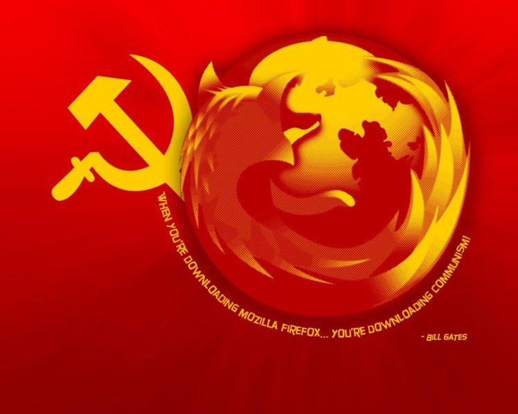 humor, Mozilla Firefox, Communism HD Wallpaper Desktop Background