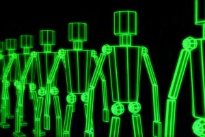 robot, Green