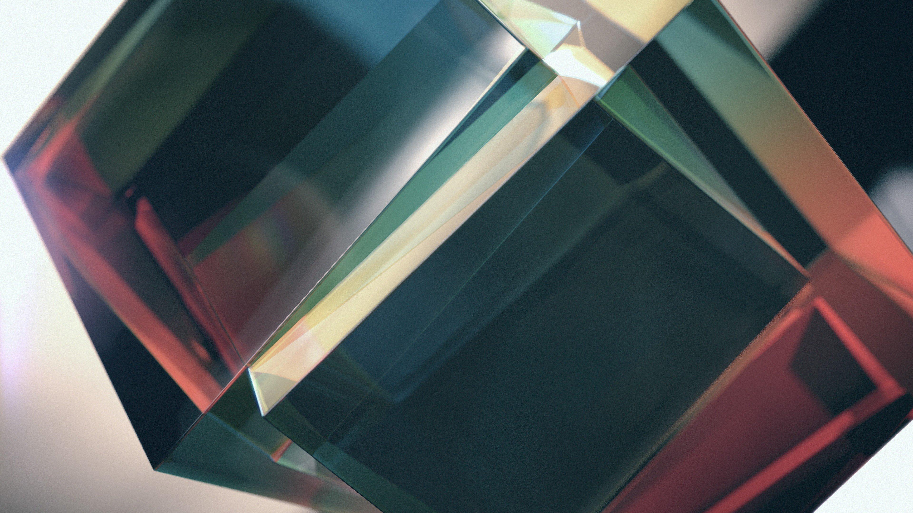 Cube minimalism abstract prism hd wallpapers desktop - Windows 10 4k wallpaper pack ...