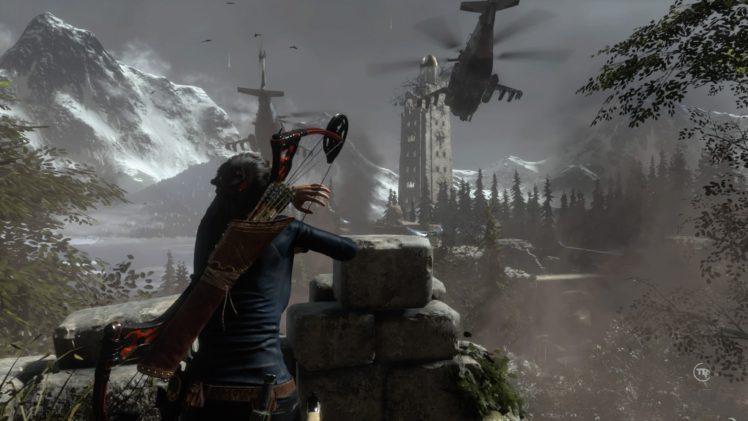 Lara Croft Tomb Raider Playstation 4 Hd Wallpapers