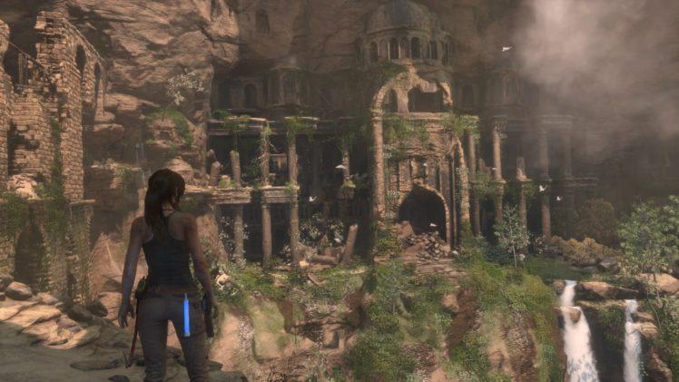 Lara Croft, Tomb Raider, PlayStation 4 HD Wallpaper Desktop Background