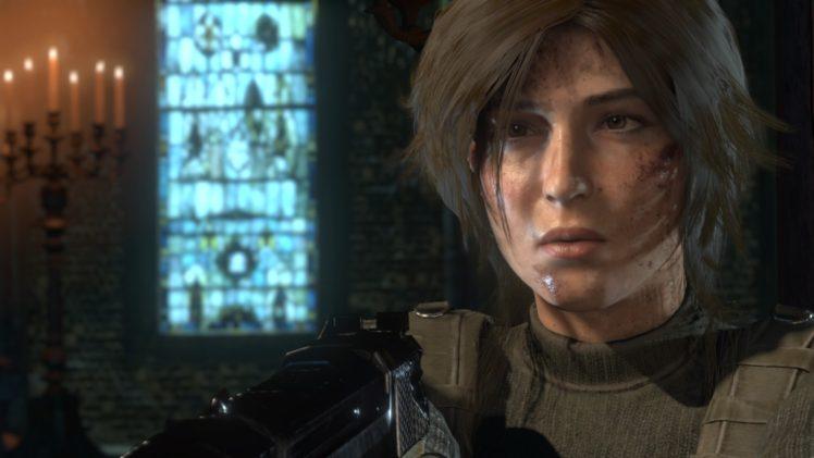 Lara Croft, Tomb Raider HD Wallpaper Desktop Background