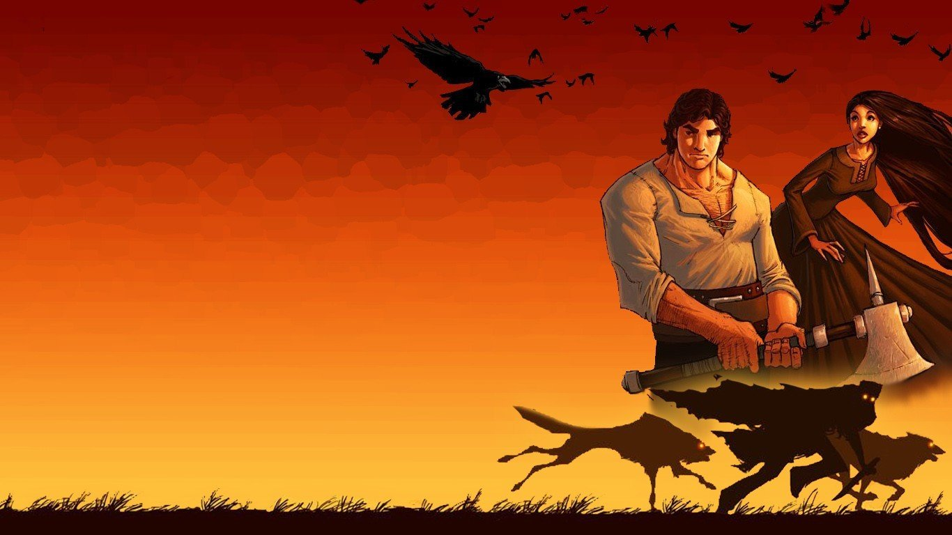 The Wheel Of Time Wolf Brother Perrin Aybara Hd Wallpapers