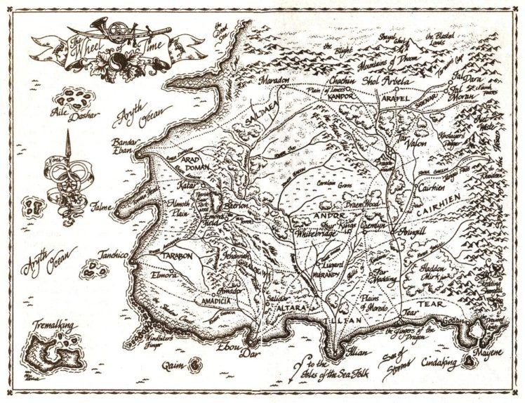 The Wheel of Time, Map HD Wallpapers / Desktop and Mobile Images ...