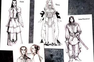 The Wheel of Time, Concept art