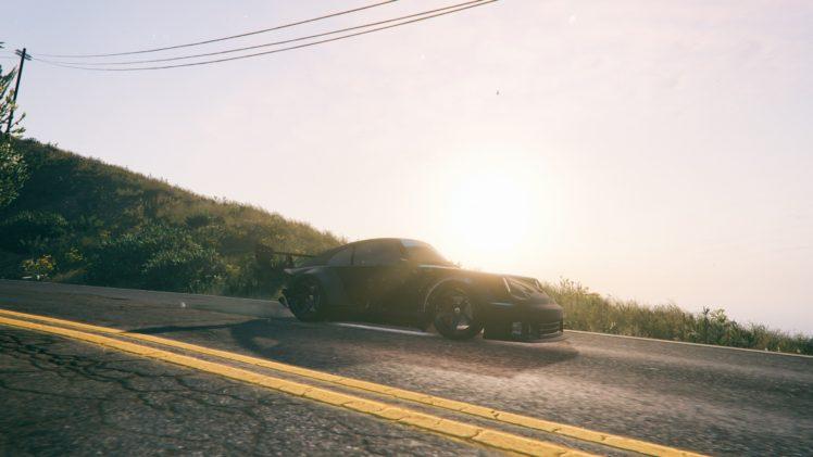 Grand Theft Auto V Sun Rays Car Hd Wallpapers Desktop