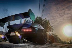 Grand Theft Auto V, Sun rays, Car